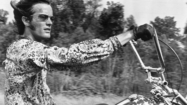 Peter Fonda as Wyatt in Easy Rider, 1969. Photograph: Silver Screen Collection/Getty Images
