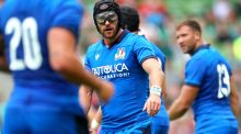 Ian McKinley has missed out on a place in Italy's squad for the Rugby World Cup. Photograph: James Crombie/Inpho