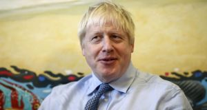 Boris Johnson said the backstop was 'simply unviable' because it is 'anti-democractic and inconsistent with the sovereignty of the UK as a state'. Photograph:  Simon Dawson/EPA/Pool