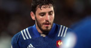 France lock  Paul Gabrillagues has received a six-week ban after an incident in the win over Scotland in Nice. Photograph:  Michael Bradley/AFP/Getty Images)