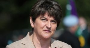 "DUP leader Arlene Foster: ""I think the letter that the prime minister has sent to President Tusk explains very clearly why the backstop cannot be entered into."" Photograph:  Niall Carson/PA"