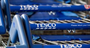 It is thought that the issue detected by Tesco is unrelated to the breach of arsenic levels in a number of Celtic Pure products, which led to a widespread recall of own-brand waters sold by some of the largest retailers in the State earlier this summer. Photograph: Will Oliver/EPA