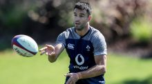 Conor Murray at Ireland Rugby squad training at the Campus, Faro, Portugal on Tuesday.  Photograph: Dan Sheridan/Inpho