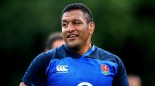 England's Mako Vunipola: 'It's not Ireland I'm excited  about, it's being back playing.' Photograph: Adam Davy/PA Wire