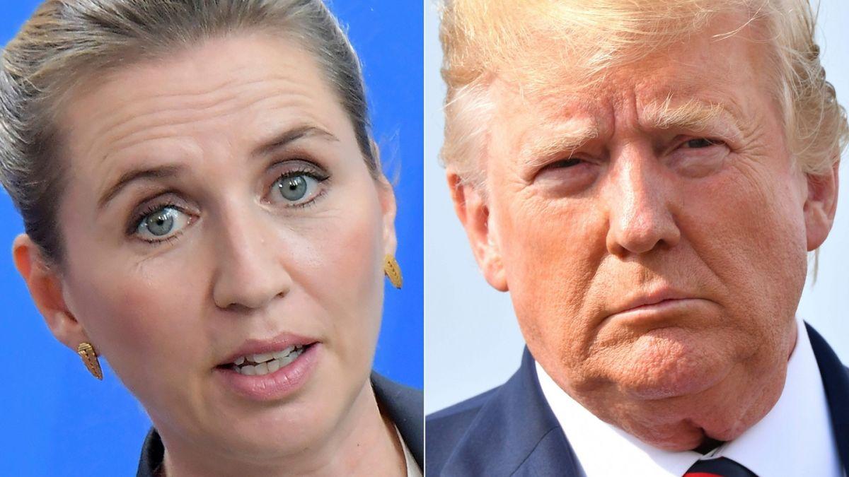 Donald Trump calls Danish PM 'nasty' after Greenland bid rebuff