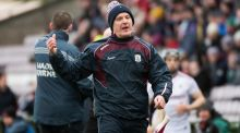 Galway hurling manager Micheal Donoghue has stepped down from the role. Photograph: Inpho