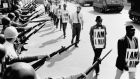 Standing up to racism: civil-rights activists in Memphis, Tennessee, in 1968