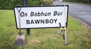 Bawnboy village and the surrounding area has a population of around 250 people. Photograph: Support Bawnboy/Facebook