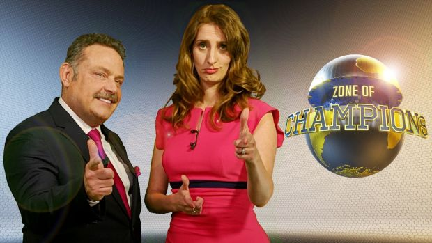 John Thomson and Jessica Knappett in Zone of Champions