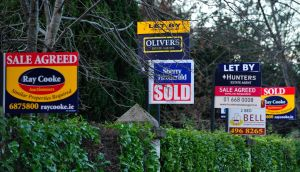 The property price survey showed that while 38 per cent of surveyors expect price falls in the coming 12 months, a third still expect prices to rise in the capital. Photograph: Aidan Crawley/Bloomberg