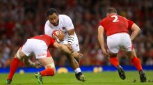 Billy Vunipola will most likely not play against Ireland at Twickenham on Saturday. Photo: Adam Davy/PA Wire