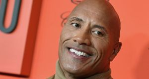 Dwayne Johnson: the former wrestler has earned an estimated $89.4 million (€80.7million) in the last 12 months. Photograph:  Angela Weiss/AFP/Getty Images