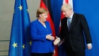 Merkel gives Johnson 30-day deadline to avoid no-deal Brexit