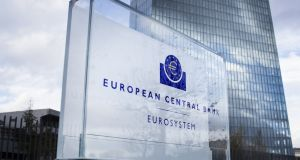 ECB  policymakers suggest  a combination of measures may be needed to prop up the euro zone economy as recent indicators paint an even bleaker picture of the outlook. Photograph: iStock