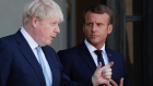 Stability in Ireland must be upheld, Macron tells Johnson
