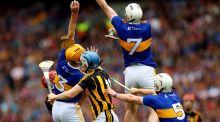 Kilkenny played into Tipperary's hands by pumping long high ball into an area of the field where Tipp players not only outnumbered the Kilkenny ones who were there but were also being joined by more Tipp bodies flooding back into that area. Photograph: James Crombie/Inpho