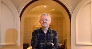 Louis Walsh at the Intercontinental Hotel, Ballsbridge, Dublin. FiIe photograph: Dara Mac Dónaill