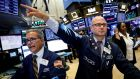 US stocks turned lower on Thursday as the first contraction in the manufacturing sector in nearly a decade and uncertainty about future interest rate cuts overshadowed an initial boost from upbeat retail earnings. Photograph: Reuters/Brendan McDermid/File Photo