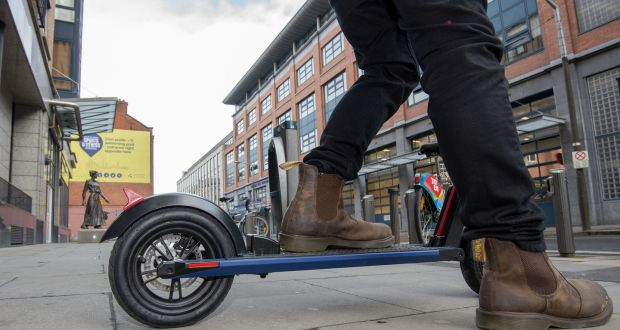 E-scooters should be legal on Irish roads, report recommends