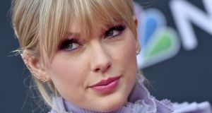 "Taylor Swift: Scooter Braun was responsible for ""incessant, manipulative bullying"", she said earler this year. Photograph:  Axelle/Bauer-Griffin/FilmMagic"
