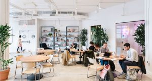 When unicorns go public. WeWork has revealed heavy losses as part of filings for its parent company's multibillion dollar public offering in the United States. Photograph: Katelyn Perry/WeWork/PA Wire