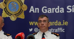 Garda Commissioner Drew Harris proposes to put an additional 1,800 Garda members on frontline line duties in the next two years. Photograph: Alan Betson