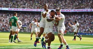 Sorry Ireland toil in the heat as England run riot at Twickenham