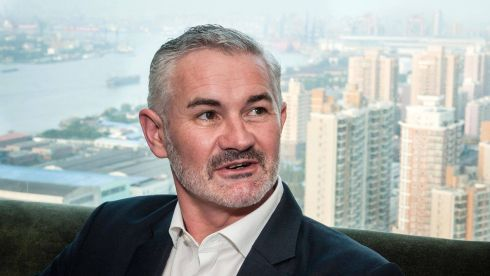 Paraic McGrath now works as director of business development for Taxback International in Singapore. Photograph: Grainne Quinlan