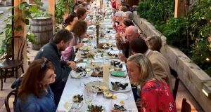 Long table dinner at Sage in Midleton during the East Cork festival