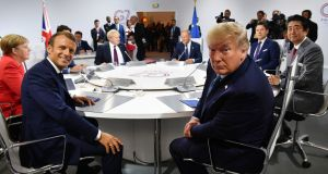 The G7 summit in Biarritz did at least confirm that, on the most pressing issues, US president Donald Trump has failed to drive a wedge between the rest of the group. Photograph: Jeff J Mitchell/PA Wire