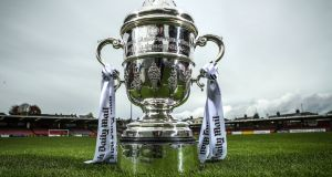 The second round draw for the FAI Cup will take place on Monday. Photo: James Crombie/Inpho