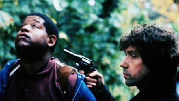 Forest Whitaker and Stephen Rea in Neil Jordan's The Crying Game (1992)
