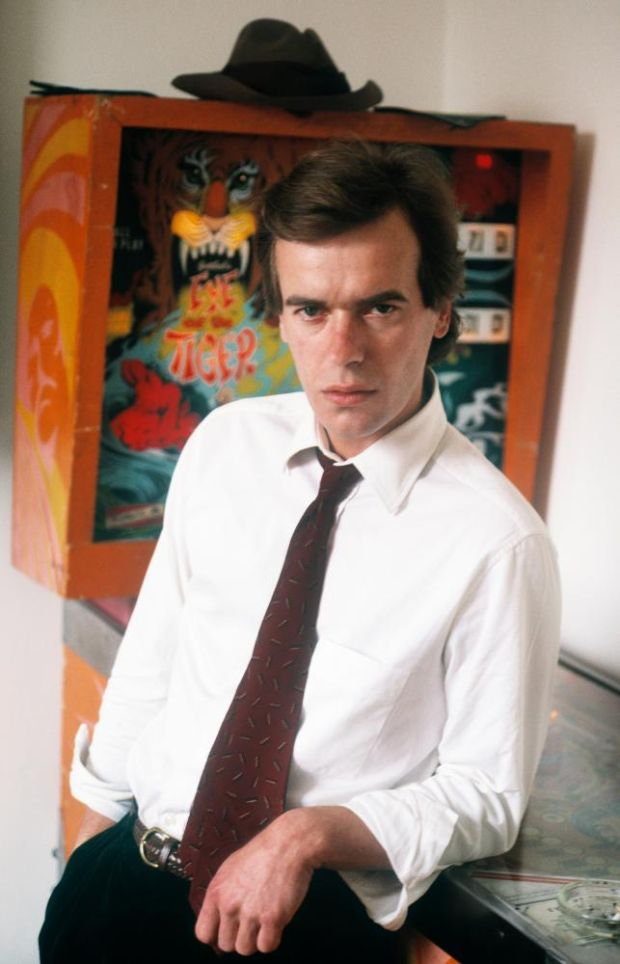 Martin Amis at home in London, 1987. Photograph: Ulf Andersen/Getty
