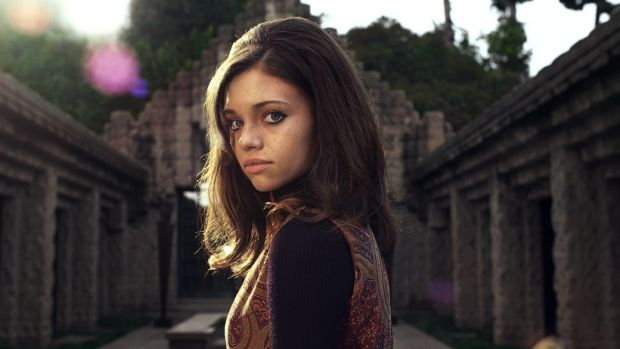 India Eisley in I Am the Night