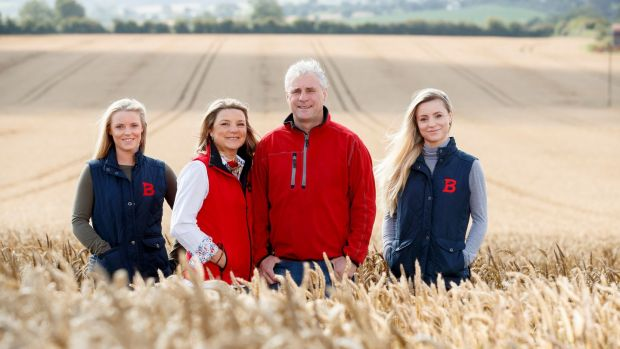 Big Week on the Farm: Ivan and Frances and Ivan Curran with their daughters in Stamullen, Co Meath