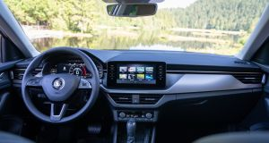 A selection of touchscreen options are offered, with perhaps the best mix being the mid-range 8-inch system