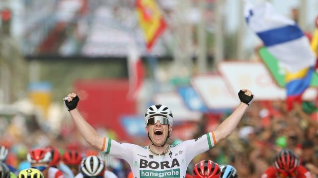 separation shoes d761d 7b1e7 Sam Bennett romps to stage win at Vuelta as Roche keeps red ...