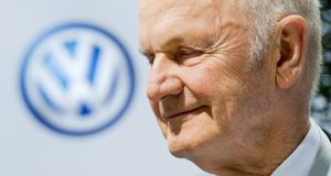 Ferdinand Piëch died on Sunday  at the age of 82. Photograph: Julian Stratenschulte/EPA