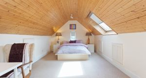 Attic room at 7 Mather Road North