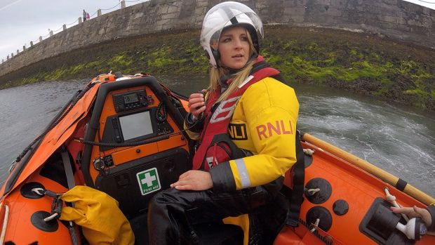 RNLI crew member Laura Jackson will avail of the €1million training fund to attend the emergency procedures course in Poole, Dorset, on behalf of Dun Laoghaire Lifeboat Station.