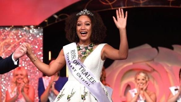 Outgoing Rose of Tralee Kirsten Mate Maher defended the festival on Tuesday. File photograph: Domnick Walsh