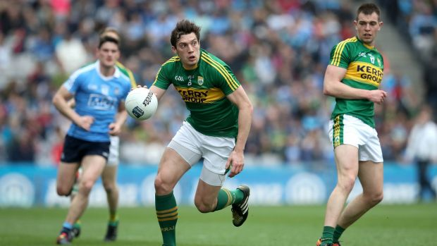 David Moran: Kerry will require a huge performance from their key midfielder if they are to prevail. Photograph: Ryan Byrne/Inpho