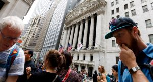 By Tuesday afternoon, equity indexes on Wall Street had given up earlier gains amid uncertainty over the prospects for a US-China trade deal.