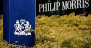 Philip Morris  sells Marlboro and other brands outside the country while Altria sells inside the US.