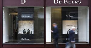De Beers sells gems at 10 sales a year in Botswana to a select group of customers. Photograph: Chris Ratcliffe/Bloomberg