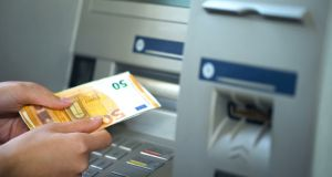Card transactions grew 14 per cent in Ireland last year, while ATM cash transactions were stagnant.
