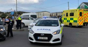 The shooting of Keith Branigan in Clogherhead, Co Louth, on Tuesday involved a team of killers that successfully escaped the scene. Photograph: Ciara Wilkinson