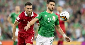 Shane Long has been left out of the Ireland squad for the Euro 2020 qualifier with Switzerland. Photo: Andrew Surma/NurPhoto via Getty Images