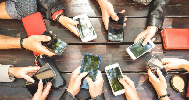 Teenagers and their phones: 'I plan to spend five minutes