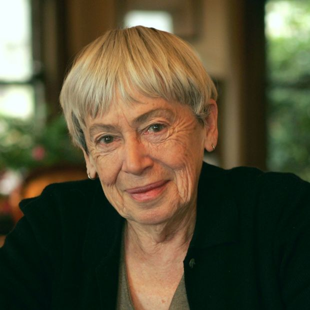 Ursula Le Guin, whom Salman Rushdie says wrote one of the few kind reviews of Grimus. Photograph: Dan Tuffs/Getty